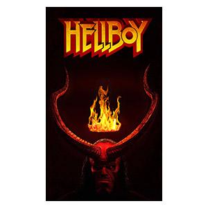 Хардпостер (на твёрдой основе) Hellboy. Размер: 30 х 50 см